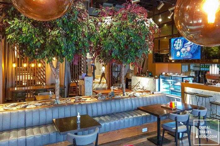 andes restaurant interior