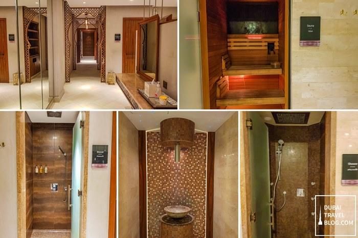 Spa sauna Habtoor Polo Resort