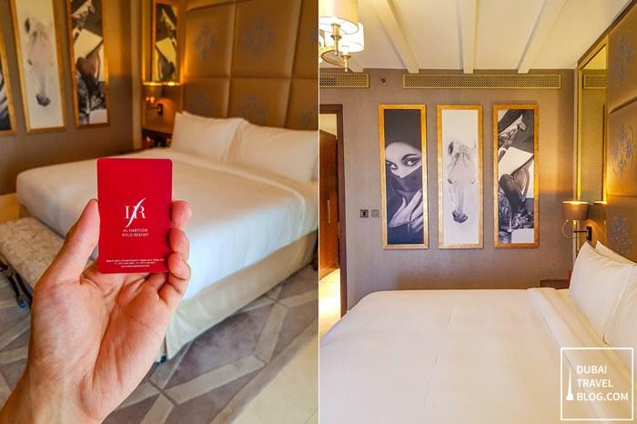 al habtoor polo Resort bedroom