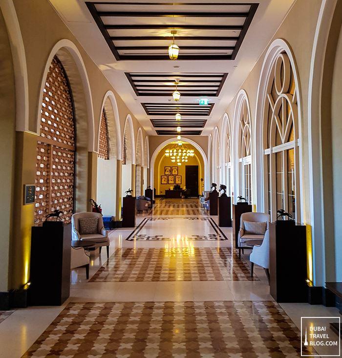 al habtoor polo resort lobby