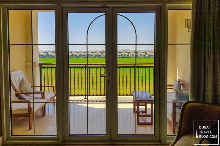 balcony deluxe room habtoor polo resort