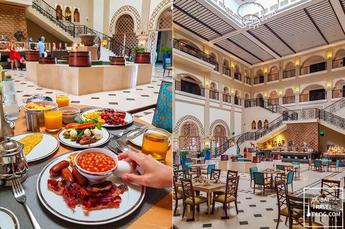 breakfast at Al Habtoor Polo Resort