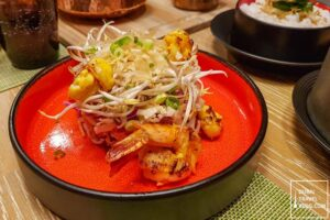 chinese salad prawns world of curries deira