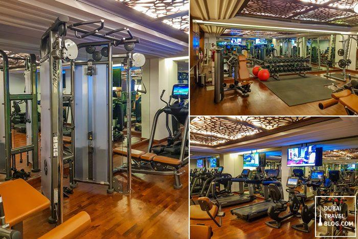gym at al-habtoor polo resort