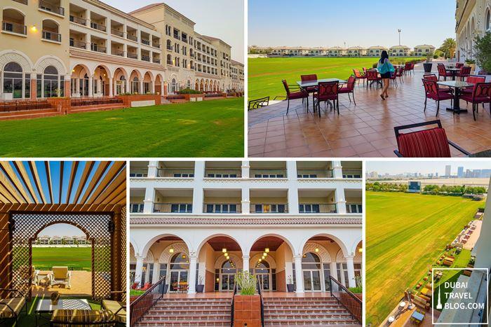 the territory of the hotel al habtoor polo Resort