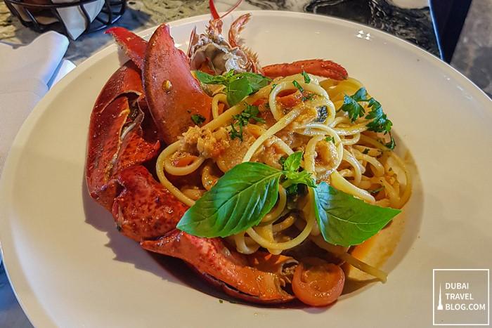 lobster linguini twenty three bar