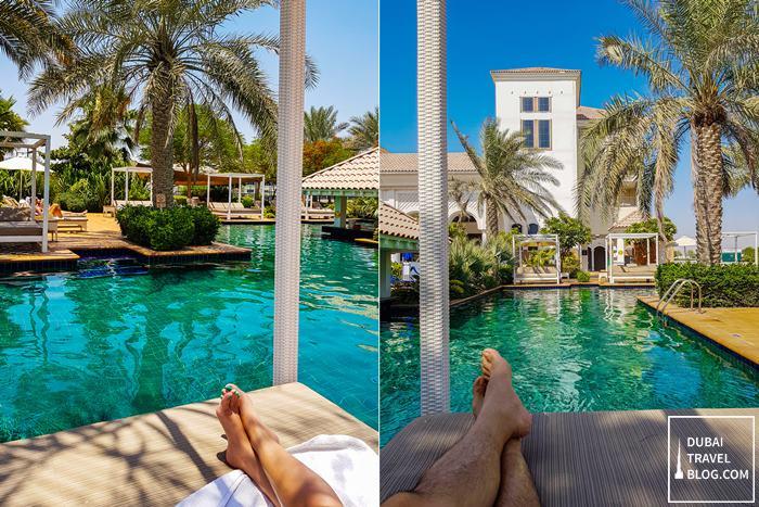 swimming pool at al-habtoor resort