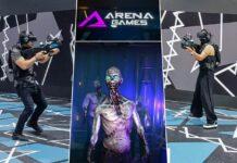 Arena Games DIFC Dubai Virtual Reality Gaming Center