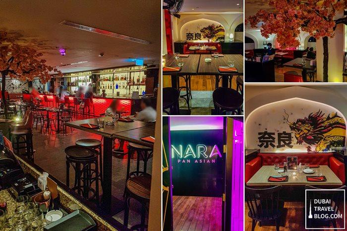 NARA Pan Asian restaurant JLT