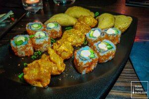 appetizers at nara pan asian dubai