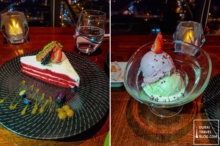 desserts at Kris With a View