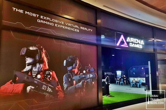 dubai arena games located in difc