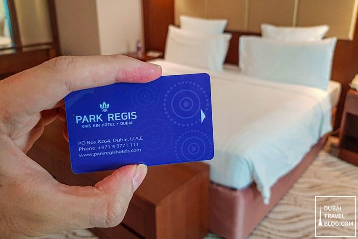 dubai park regis entry card