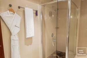 hotel Park Regis Kris Kin shower