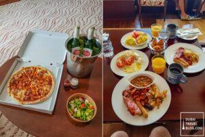 in room dining and breakfast at park regis kris kin