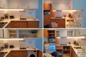 kitchen in adagio deira