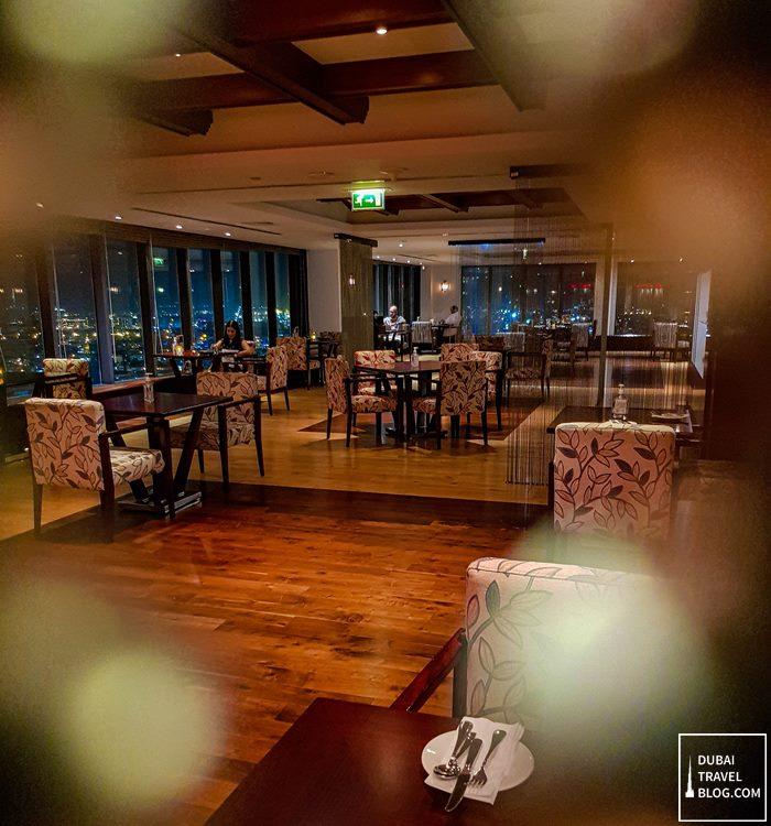 kris with a view restaurant in dubai