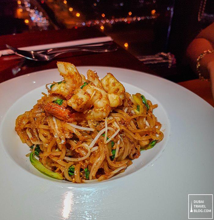 pad thai noodles kris with a view