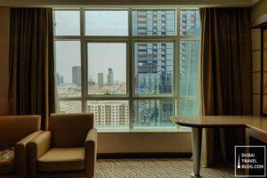 view from our suite Park Regis Kris Kin