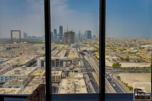 view of dubai from kris with a view