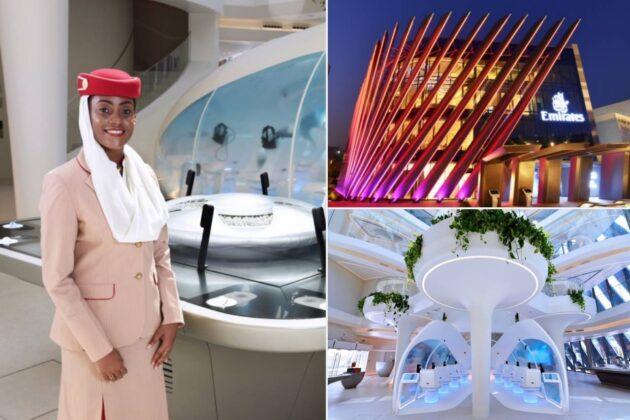 emirates pavilion in dubai expo 2020