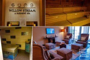 Fairmont The Palm Willow Stream Spa massage