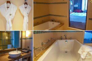 bathroom fairmont the palm dubai