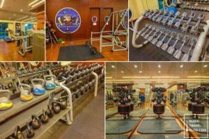 fairmont the palm dubai gym