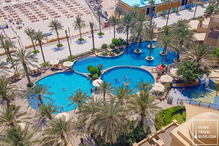 fairmont the palm pool